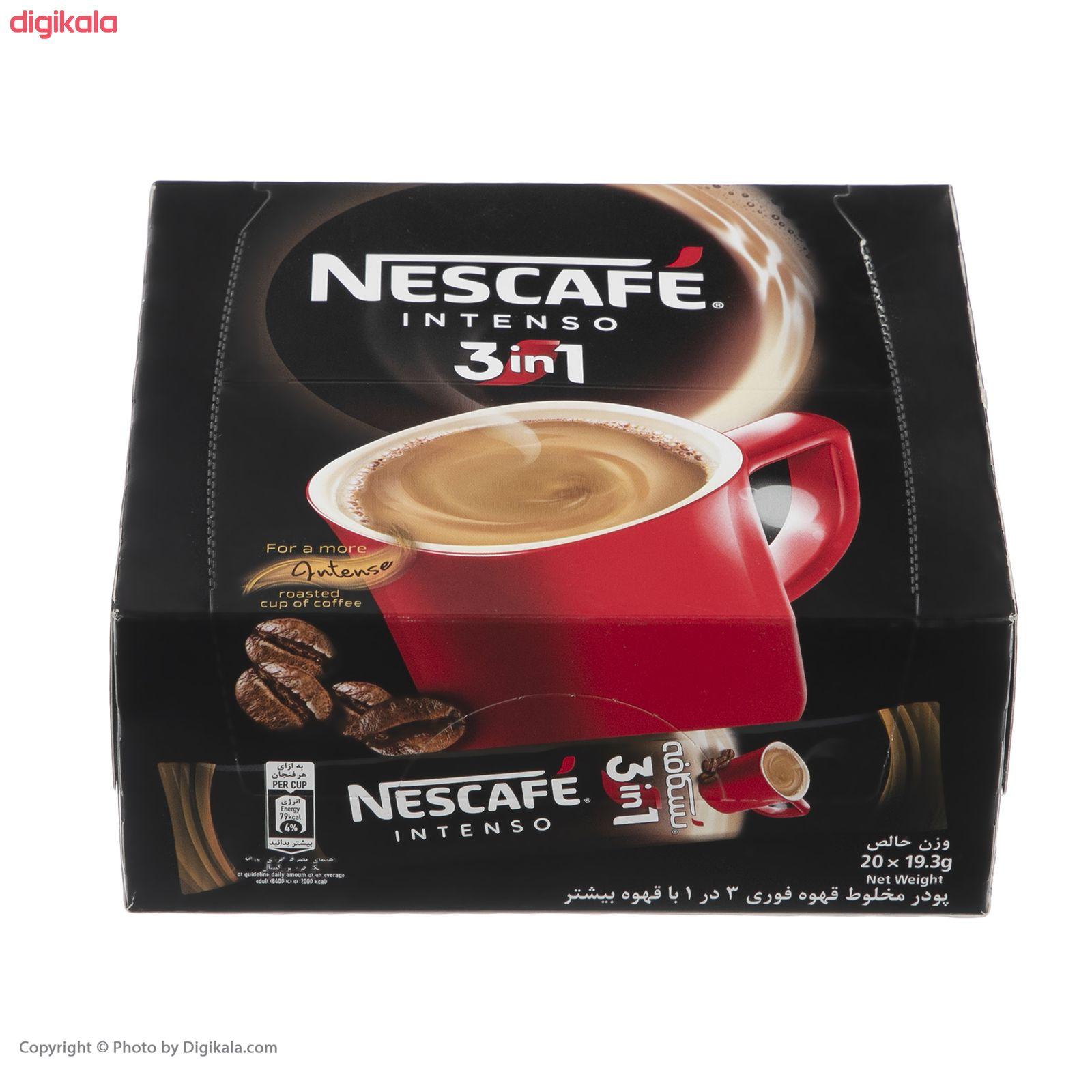 قهوه فوری نسکافه مدل 1 × 3 اینتسو بسته 20 عددی main 1 1