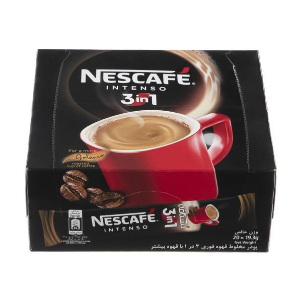 قهوه فوری نسکافه مدل 1 × 3 اینتسو بسته 20 عددی