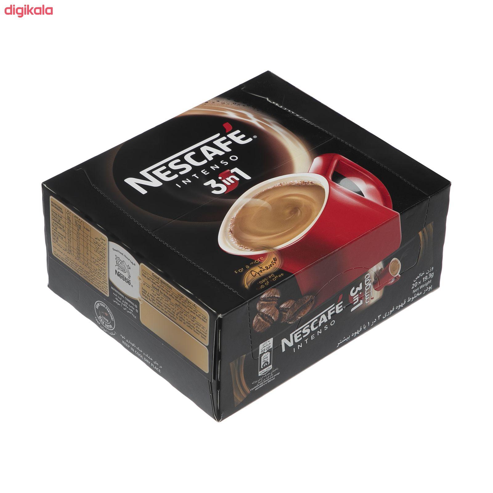 قهوه فوری نسکافه مدل 1 × 3 اینتسو بسته 20 عددی main 1 8