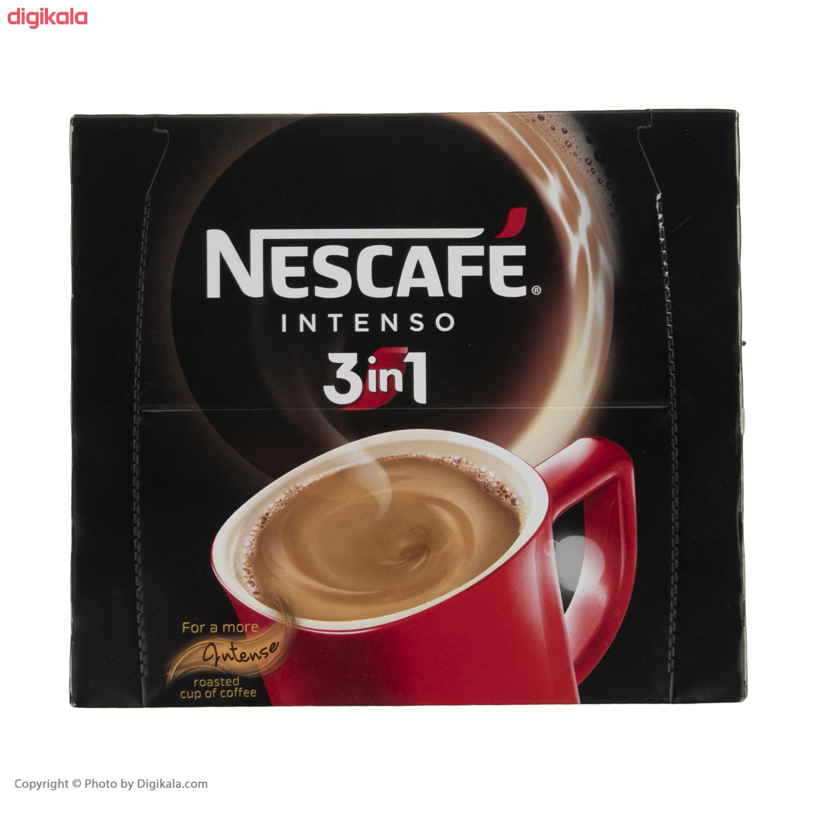 قهوه فوری نسکافه مدل 1 × 3 اینتسو بسته 20 عددی main 1 2