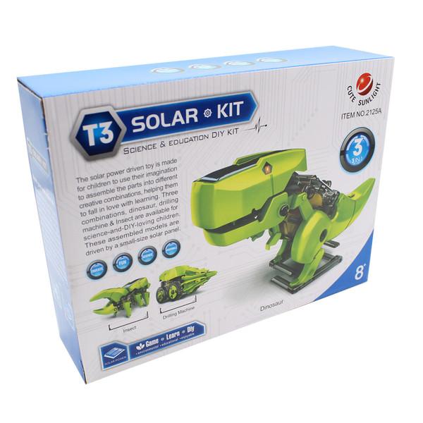 کیت آموزشی کیوت سان لایت مدل ربات خورشیدی T3