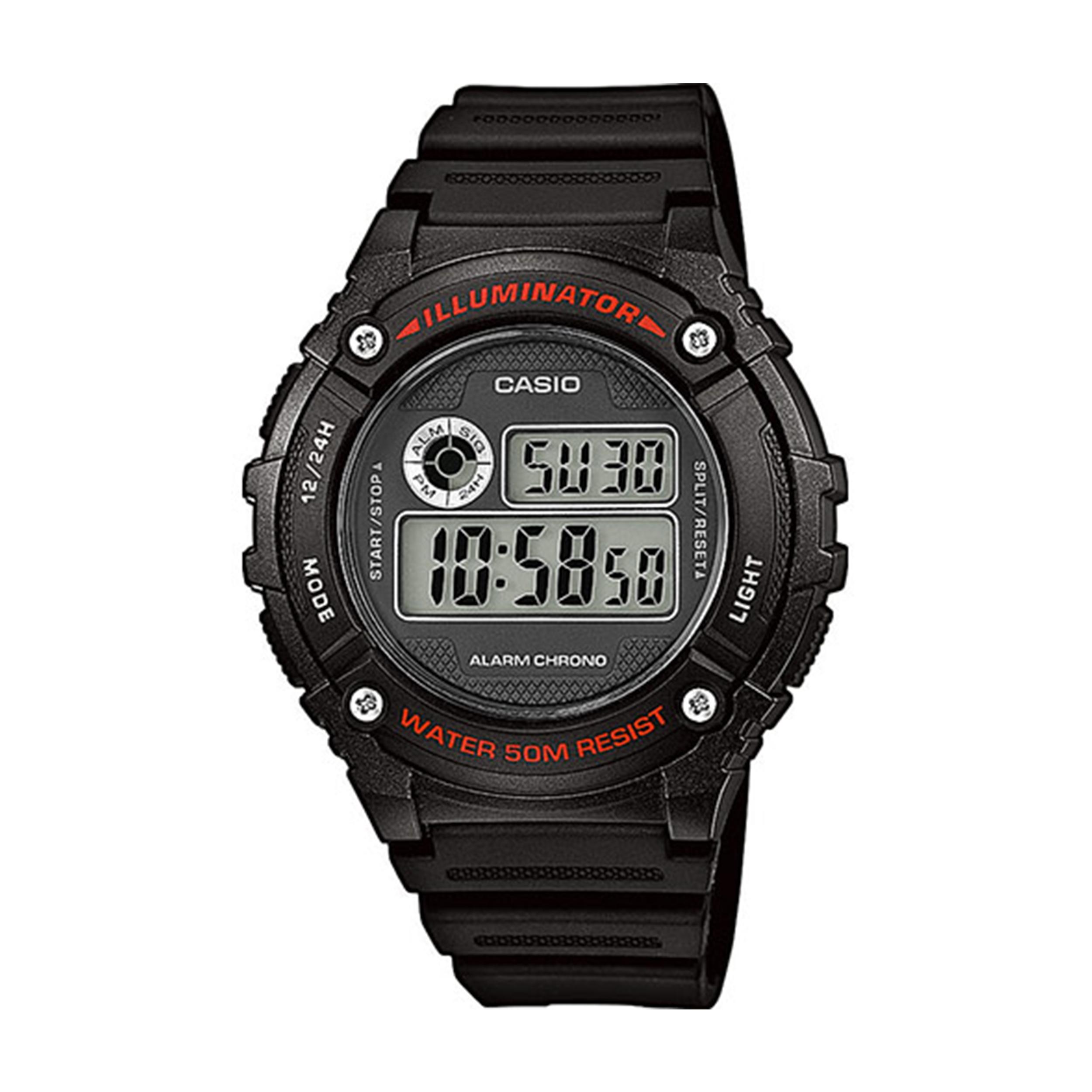 ساعت مچی دیجیتال کاسیو مدل W-216H-1AVDF              👙