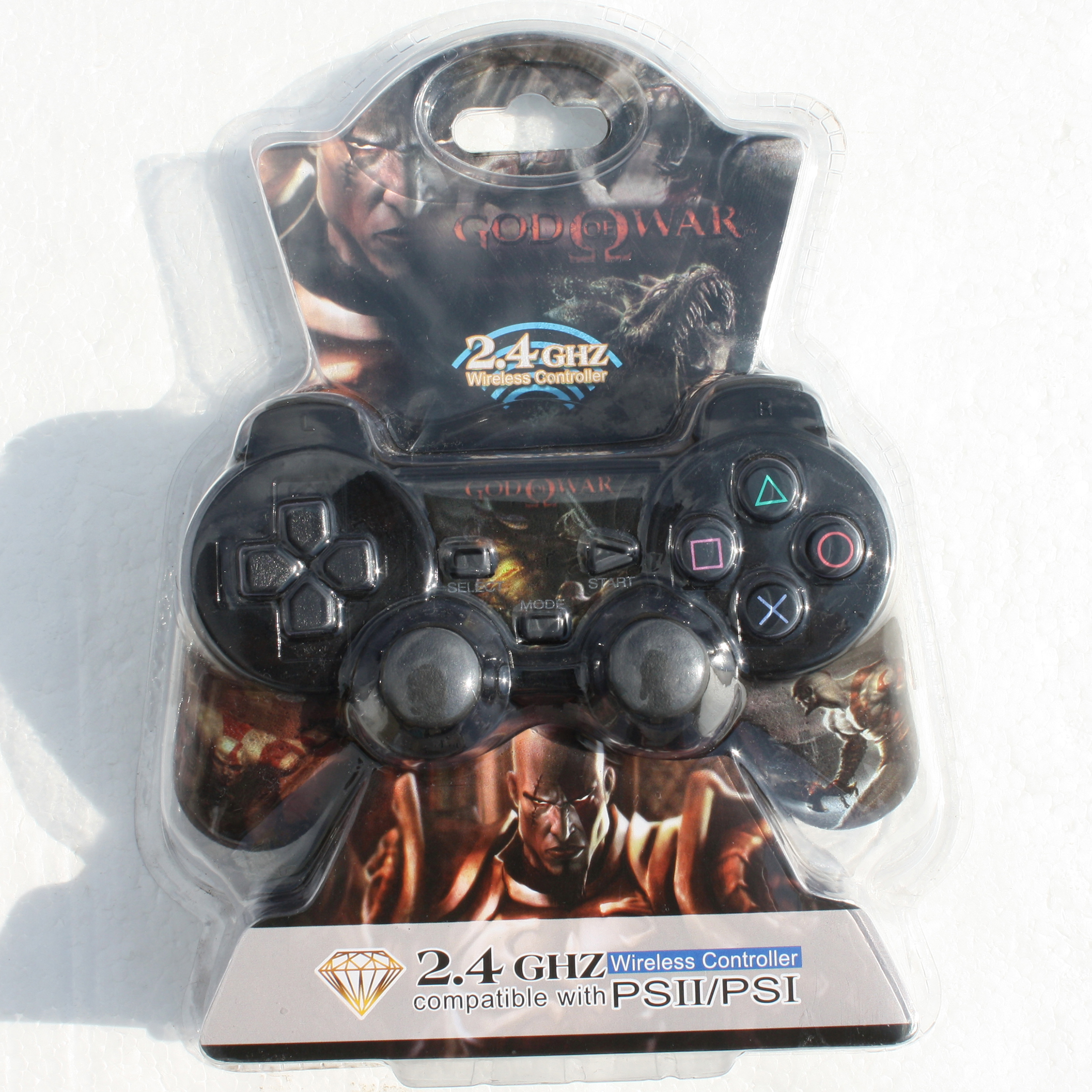 خرید اینترنتی دسته بازی پلی استیشن 2 مدل god of war کد 001 اورجینال