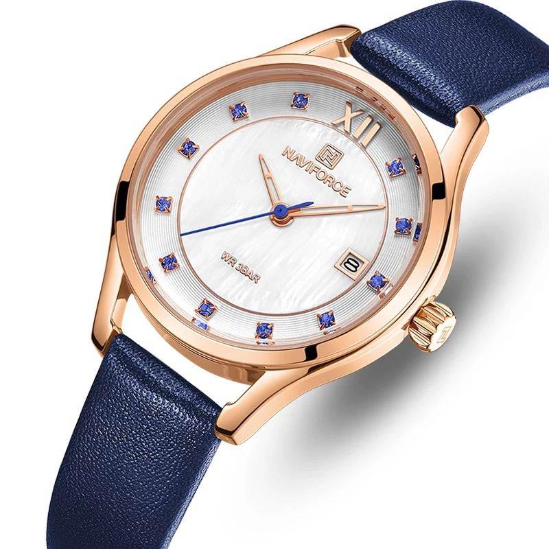 ساعت مچی عقربه ای زنانه نیوی فورس مدل NF5010L- SO-RZ              ارزان