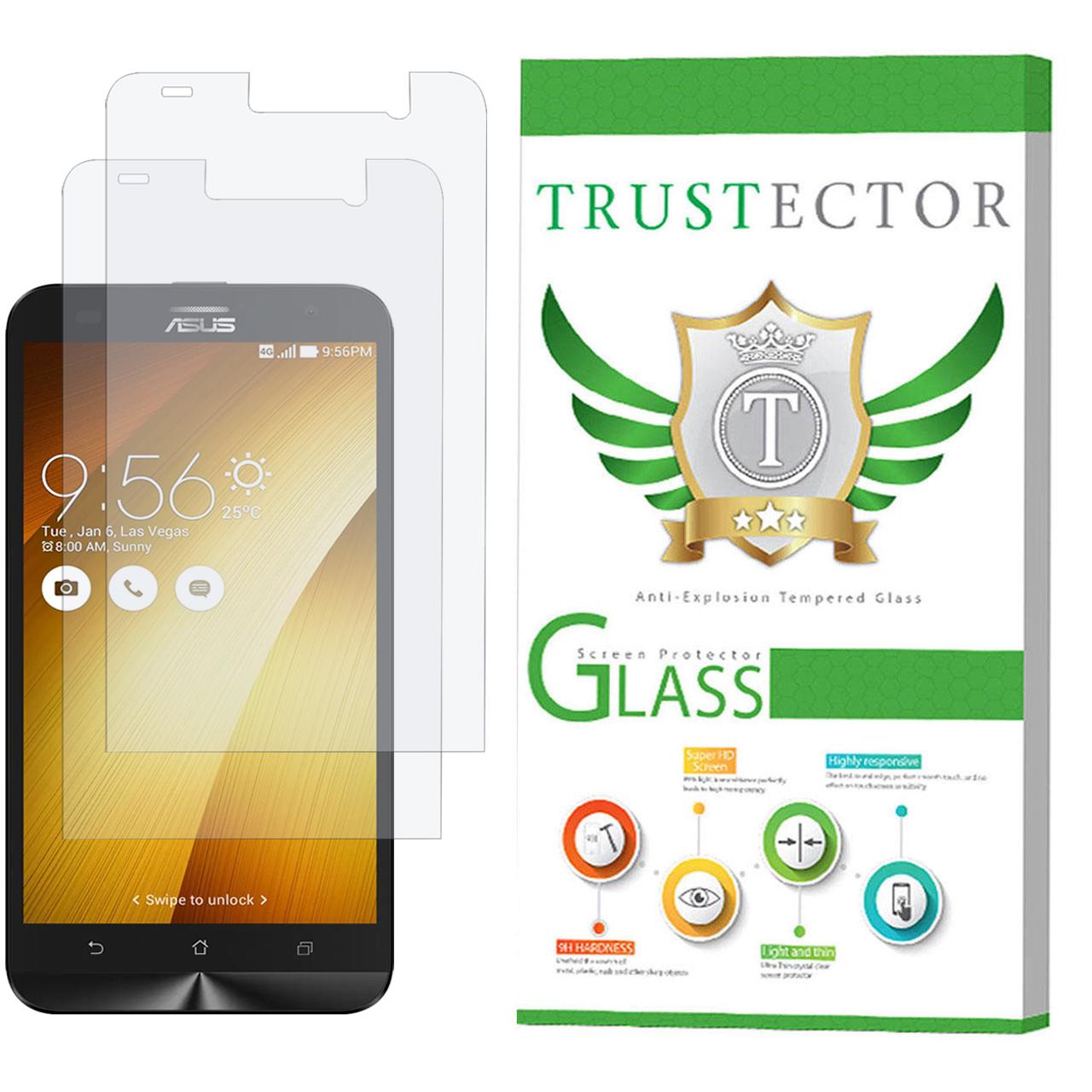 محافظ صفحه نمایش تراستکتور مدل GLS مناسب برای گوشی موبایل ایسوس Zenfone 2 Laser ZE550KL بسته 2 عددی              ( قیمت و خرید)