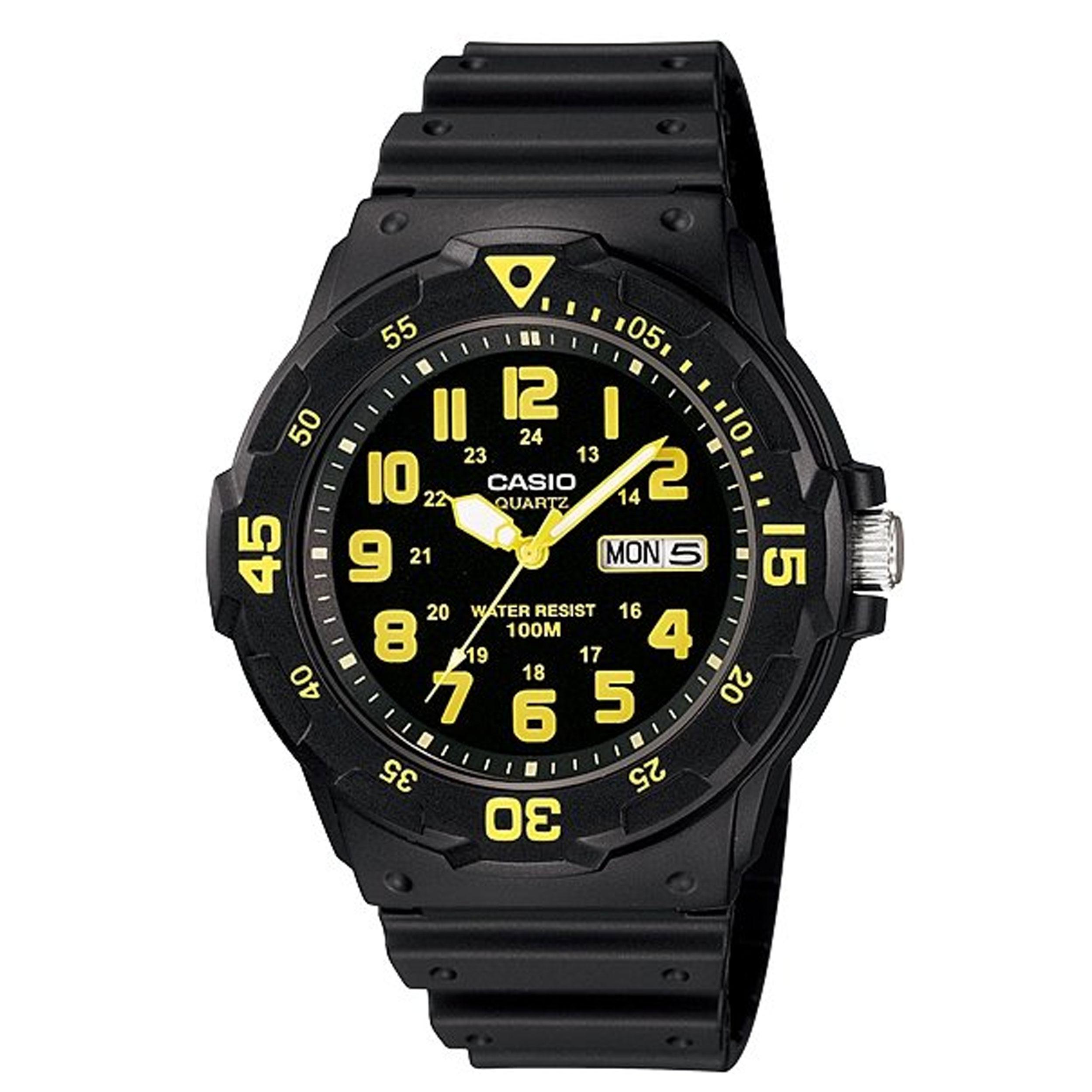 ساعت مچی عقربه ای مردانه کاسیو مدل MRW-200H-9B              خرید (⭐️⭐️⭐️)