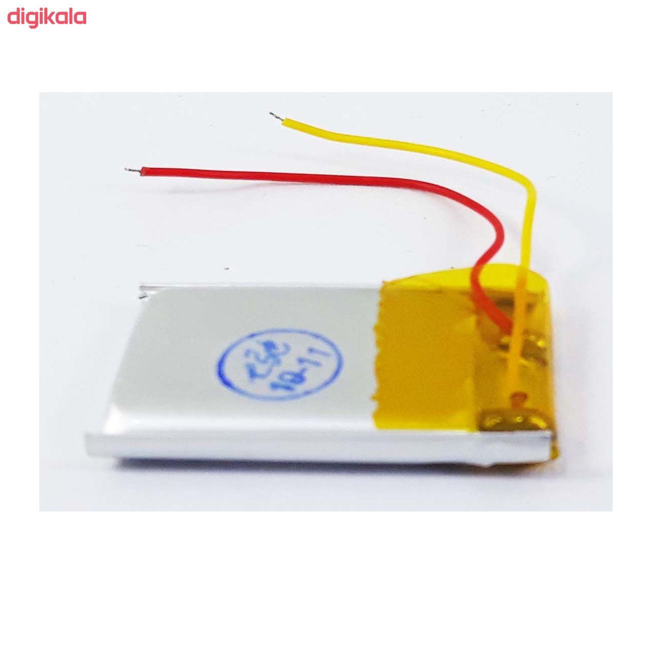 باتری لیتیوم یون قابل شارژ مدل Head-01 ظرفیت200میلی آمپر ساعت  main 1 1