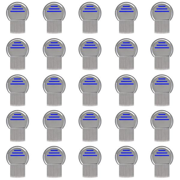 شانه ضد شپش مو کد NF002 بسته 25 عددی