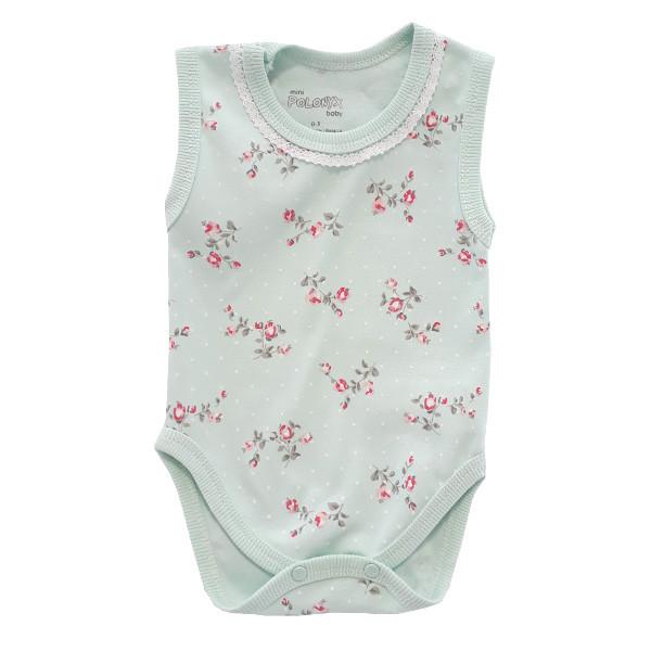 بادی نوزادی دخترانه پولونیکس طرح فلوریا کد 01-11812