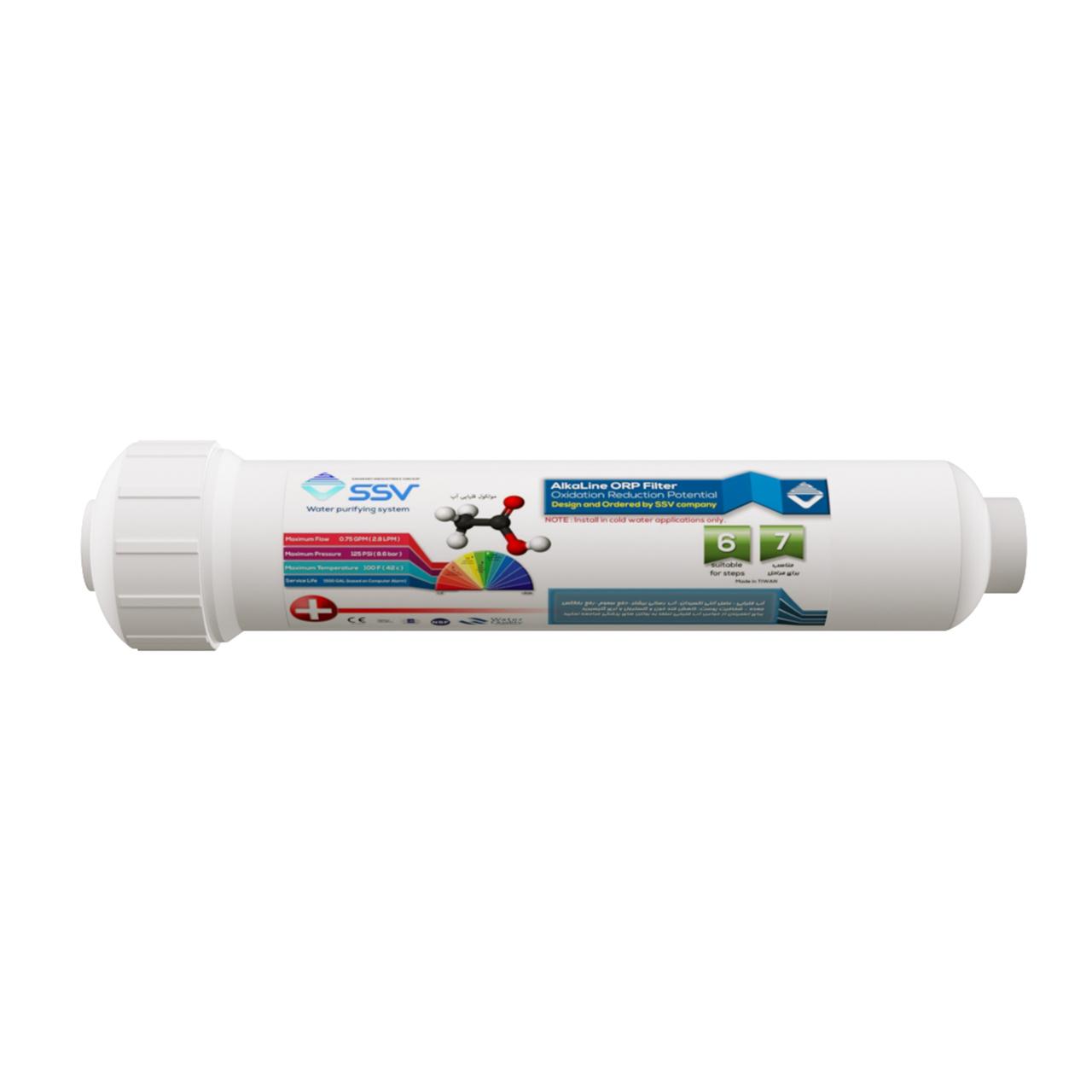 فیلتر دستگاه تصفیه کننده آب اس اس وی مدل Rechargeable Alkaline