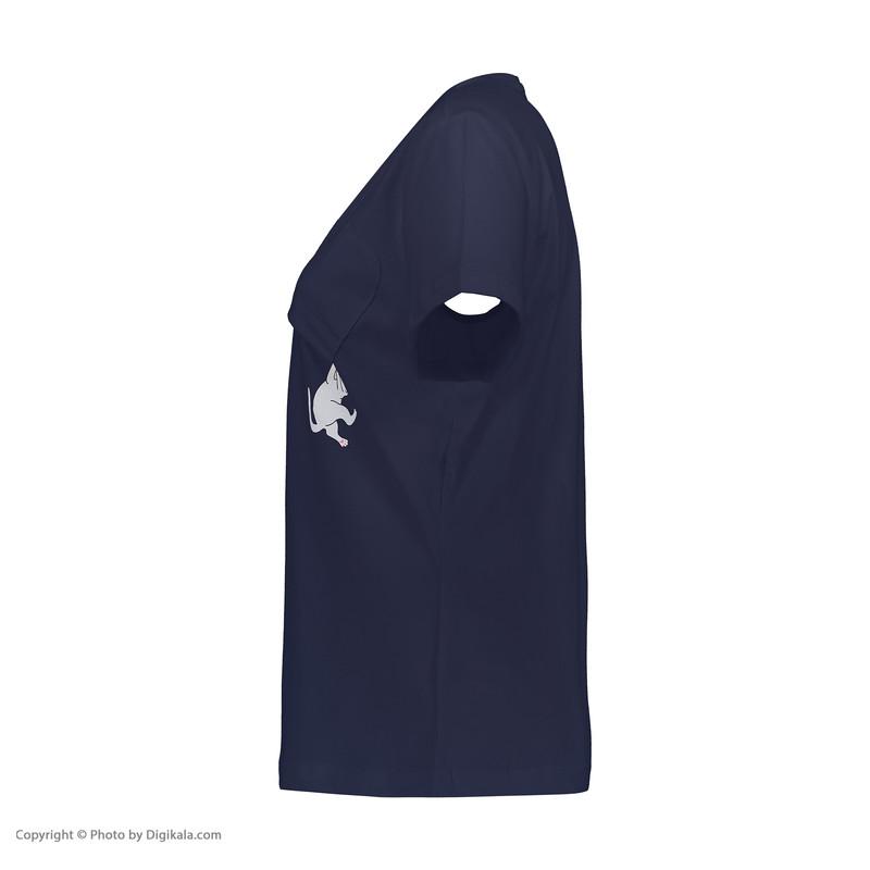 تی شرت زنانه جامه پوش آرا مدل 4012018382-59