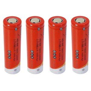 باتری لیتیوم یون قابل شارژ مدل WS-INR ظرفیت 2200 میلی آمپرساعت بسته 4 عددی