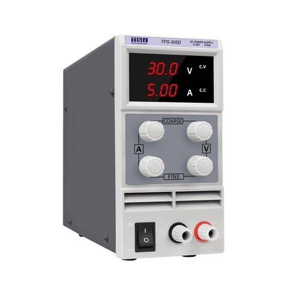 منبع تغذیه 30 ولت 5 آمپر تی اس آی مدل TPS-305D
