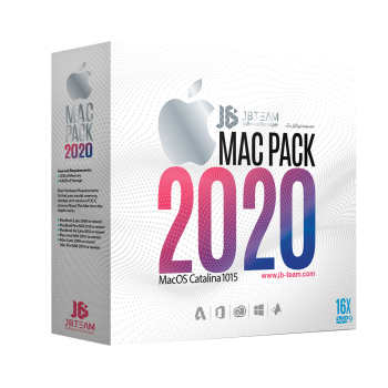 مجموعه نرم افزار JB Mac Pack 2020 نشر جی بی تیم