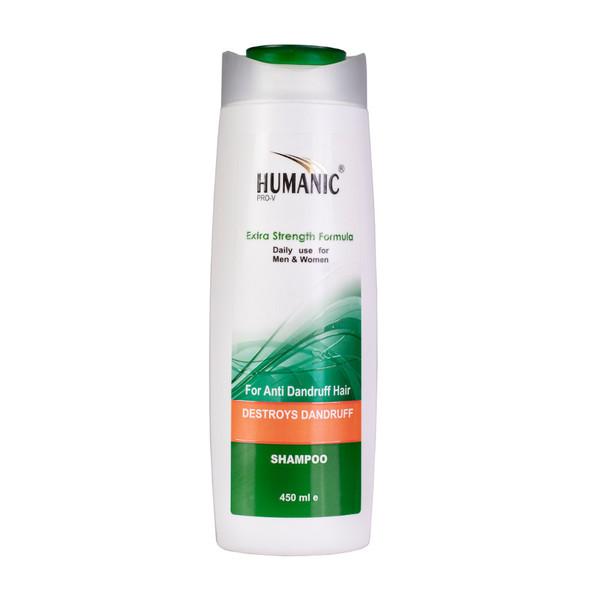 شامپو مو ضد شوره هیومنیک سری pro-v حجم ۴۵۰ میلی لیتر