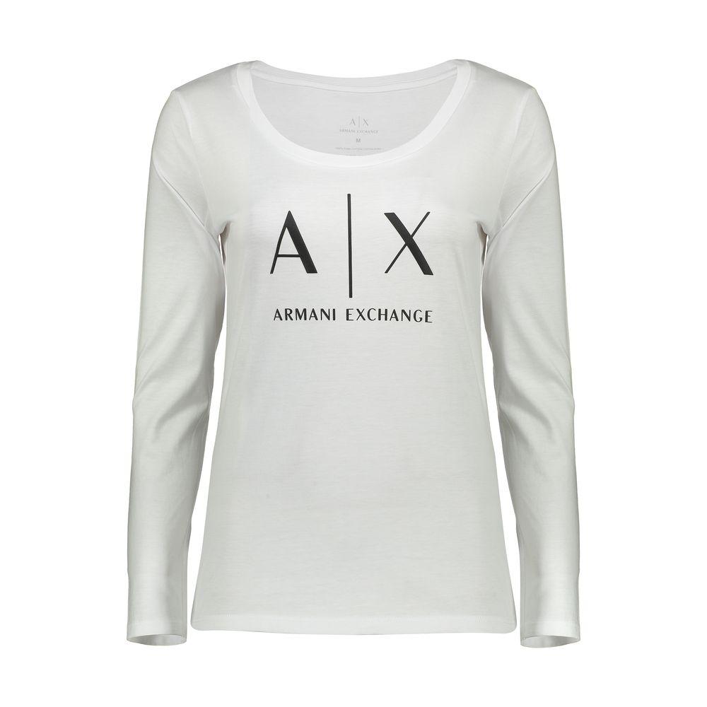 تصویر تی شرت زنانه آرمانی اکسچنج مدل 8NYTDGYJ16Z-1000