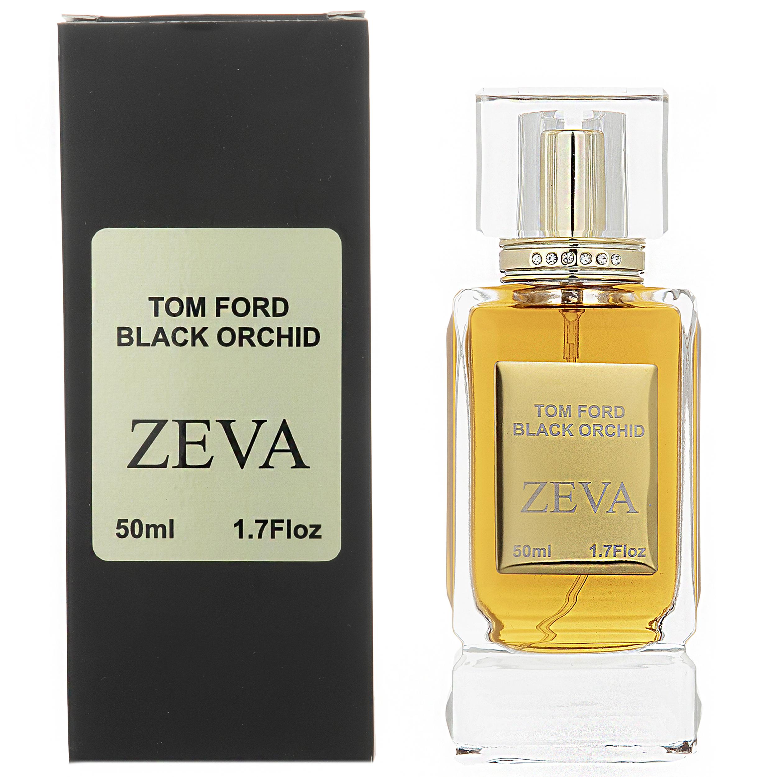 ادو پرفیوم زنانه زوا مدل Tom Ford Black Orchid حجم 50 میلی لیتر