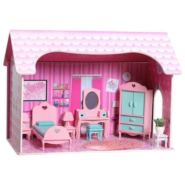 خانه عروسکی مدل کلبه بازی کد 01