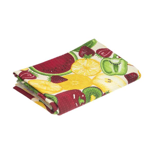 دستمال آشپزخانه میلدا طرح هندوانه بزرگ