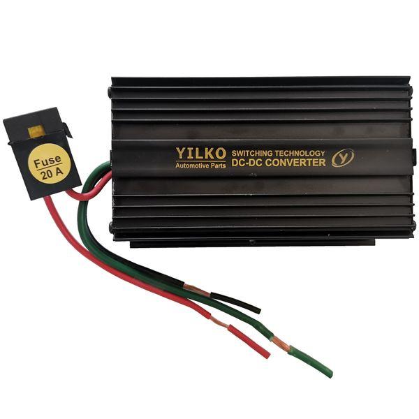 مبدل برق خودرو ییلکو مدل YK24_12_40