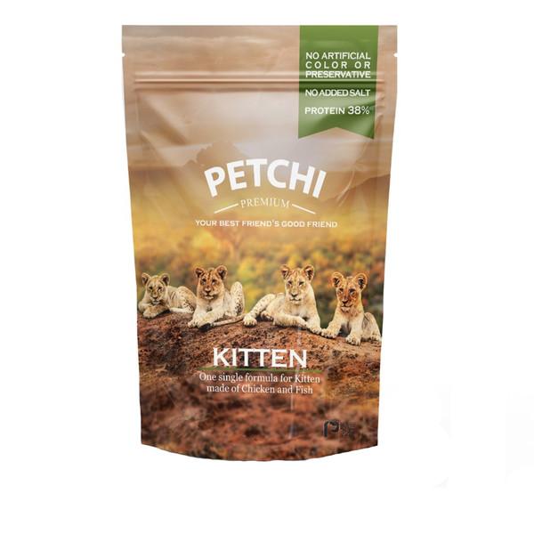 غذای خشک پریمیوم پتچی مدل Kitten وزن 1.7 کیلوگرم