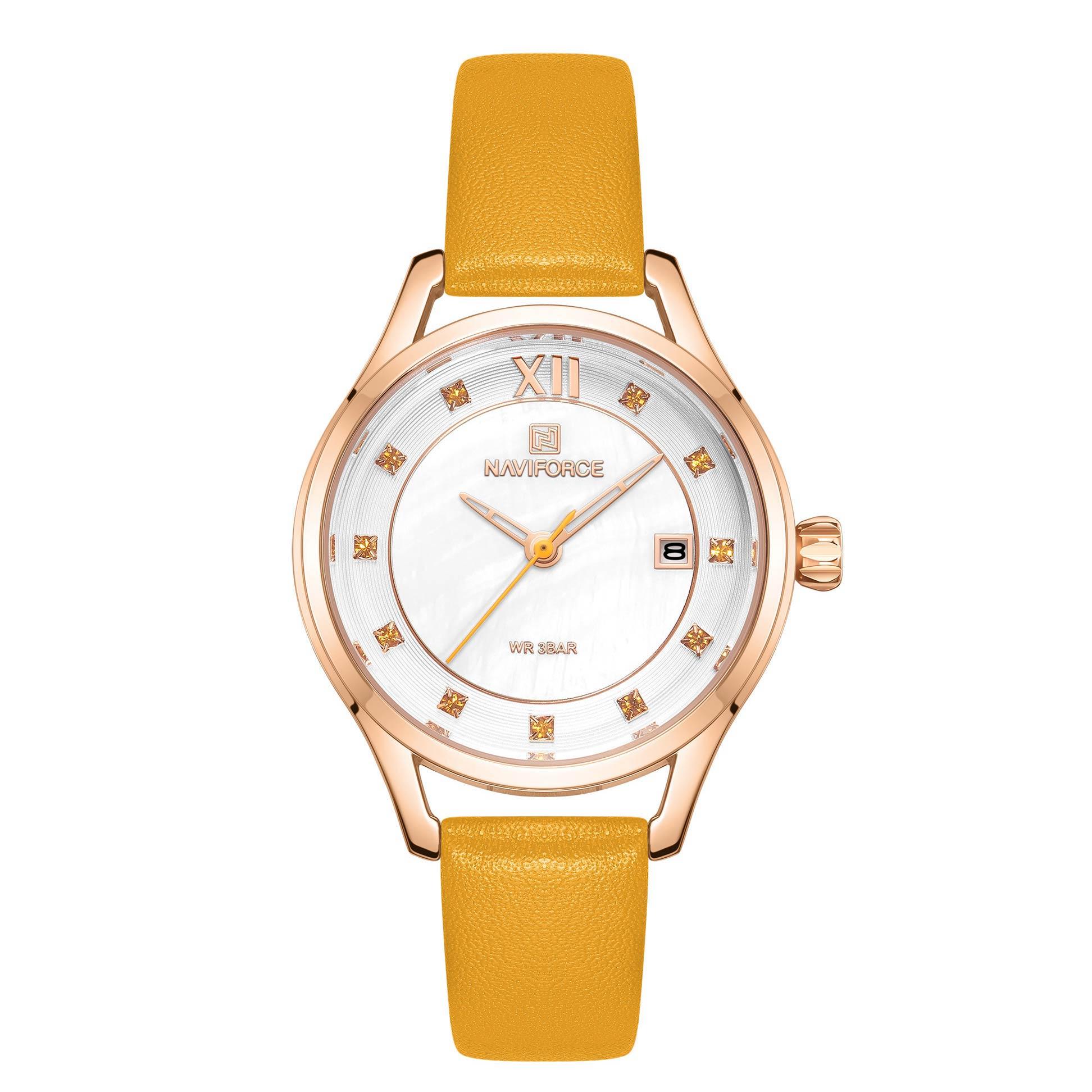 ساعت مچی عقربه ای زنانه نیوی فورس مدل NF5010L- ZA-RZ              خرید (⭐️⭐️⭐️)