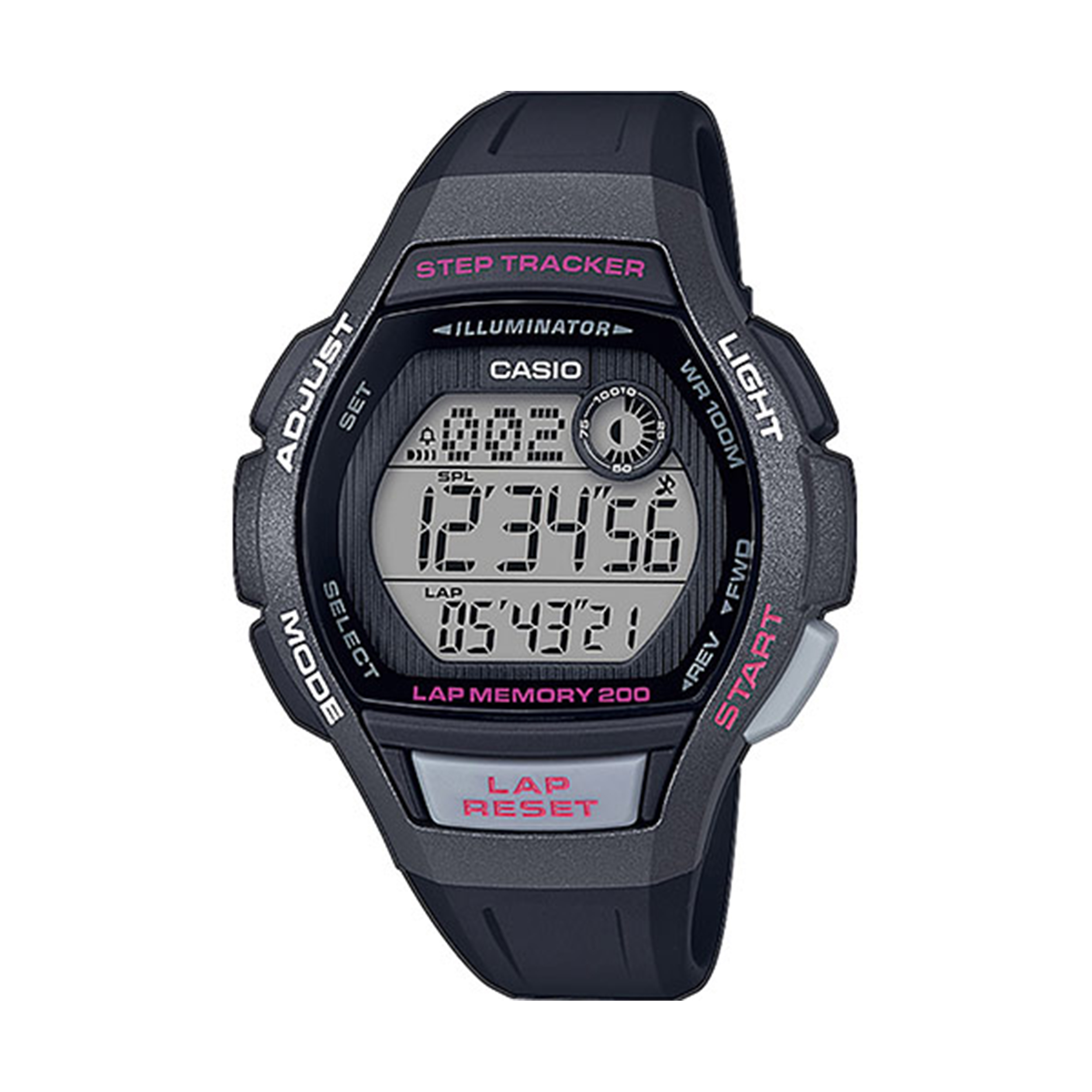 ساعت مچی دیجیتال کاسیو مدل LWS-2000H-1AVDF              👙