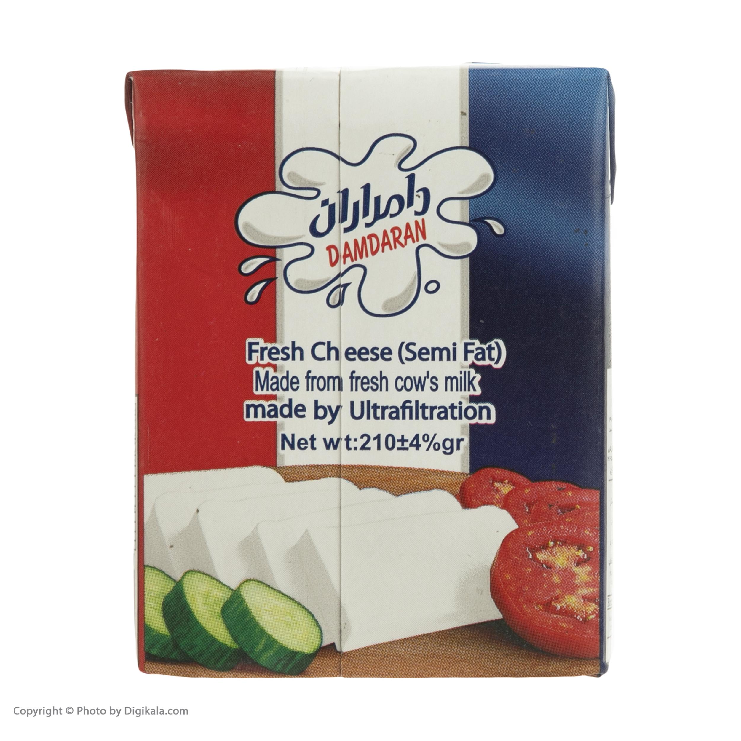 پنیر نسبتا چرب دامداران  - 210 گرم