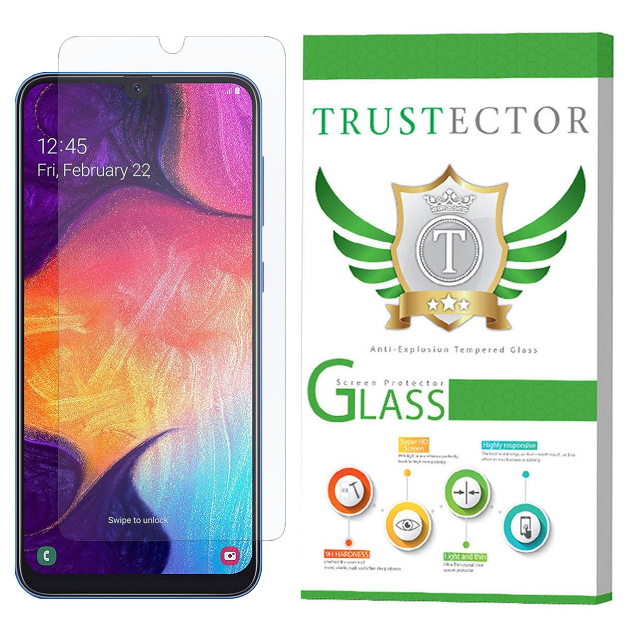 محافظ صفحه نمایش تراستکتور مدل GLS مناسب برای گوشی موبایل سامسونگ Galaxy A50              ( قیمت و خرید)