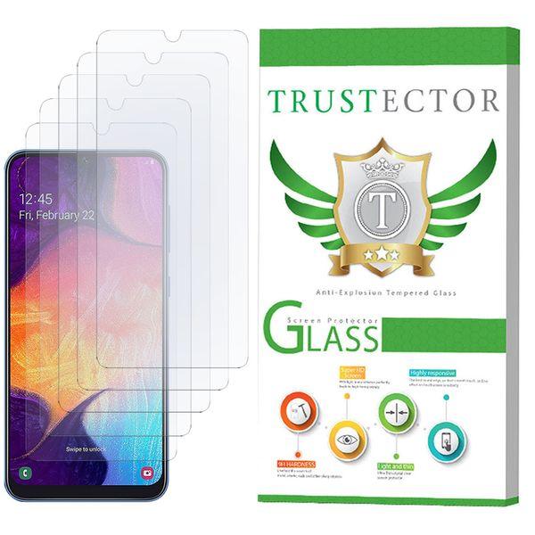محافظ صفحه نمایش تراستکتور مدل GLS مناسب برای گوشی موبایل سامسونگ Galaxy A50 بسته 5 عددی