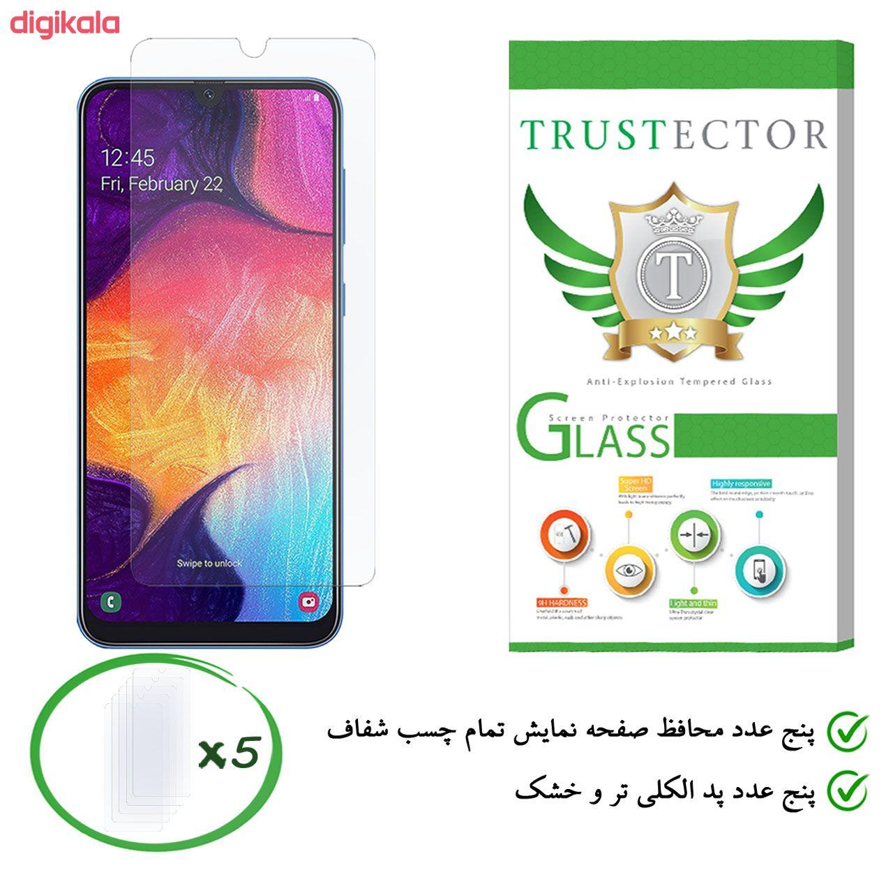 محافظ صفحه نمایش تراستکتور مدل GLS مناسب برای گوشی موبایل سامسونگ Galaxy A50 بسته 5 عددی main 1 8