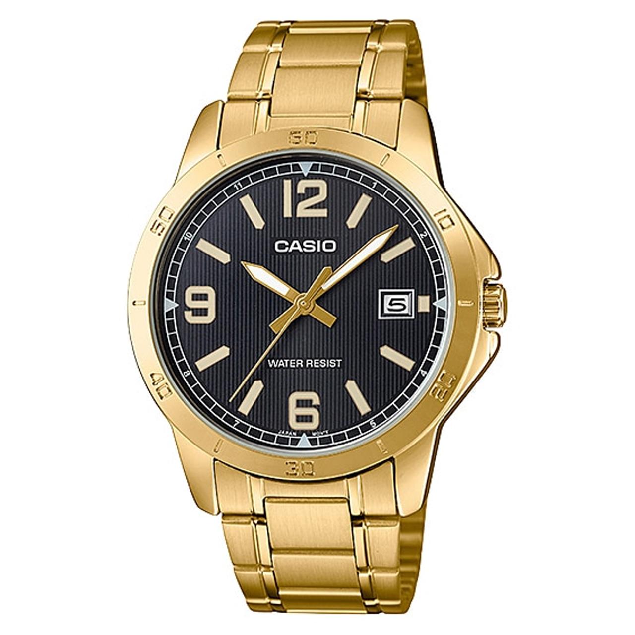ساعت مچی عقربه ای مردانه کاسیو مدل MTP-V004G-1BUDF              ارزان