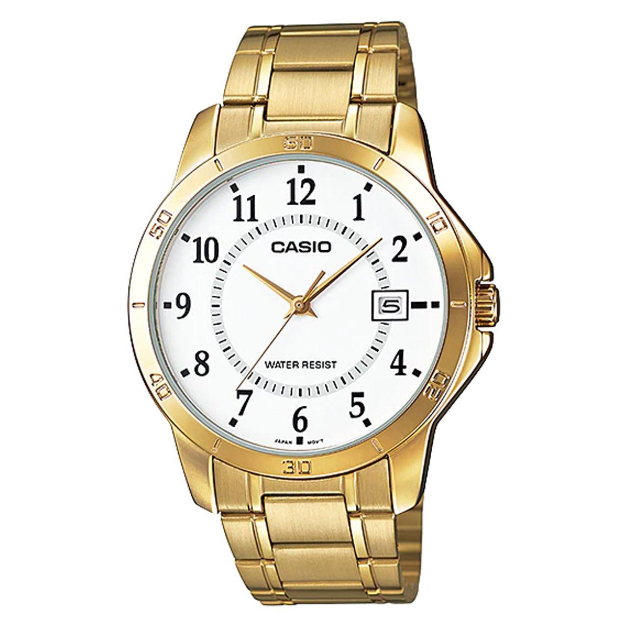 خرید ساعت مچی عقربه ای مردانه کاسیو مدل MTP-V004G-7B2UDF