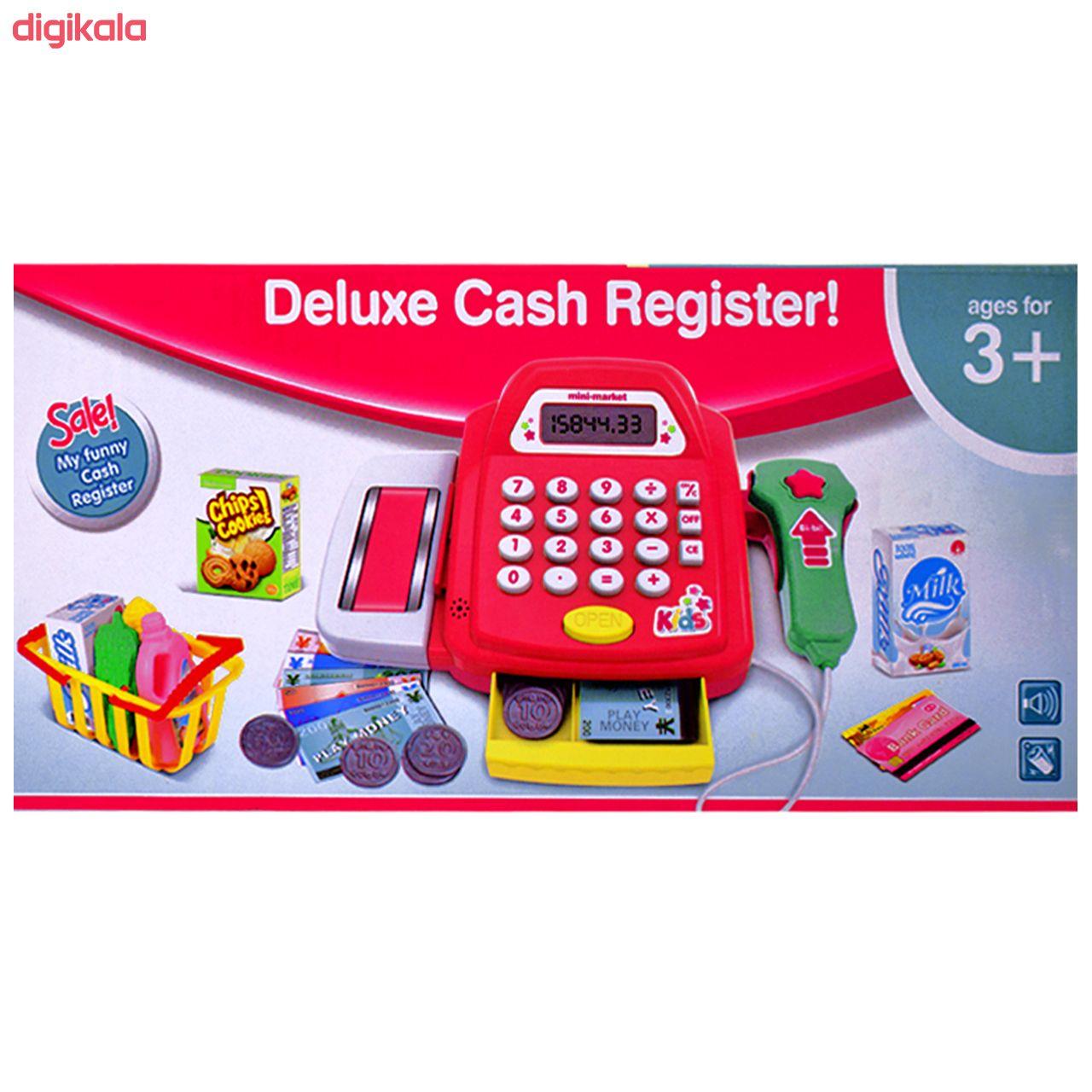 اسباب بازی صندوق فروشگاهی کش رجیستر کد 225430