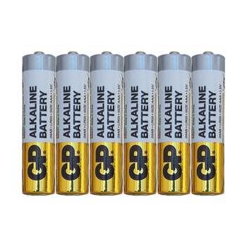 باتری نیم قلمی جی پی مدل 24 ای بی بسته شش عددی