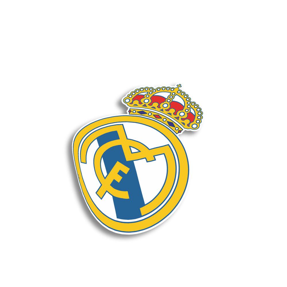 استیکر فراگراف FG مدل رئال مادرید کد 01