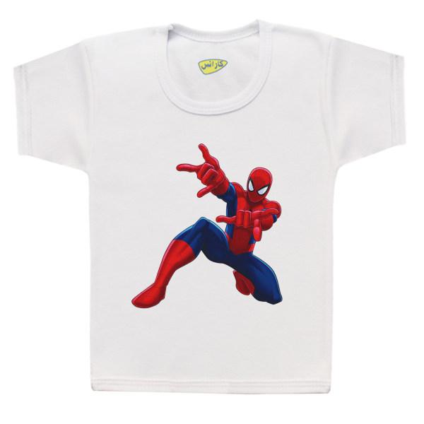 تی شرت پسرانه کارانس طرح مرد عنکبوتی مدل BT-349