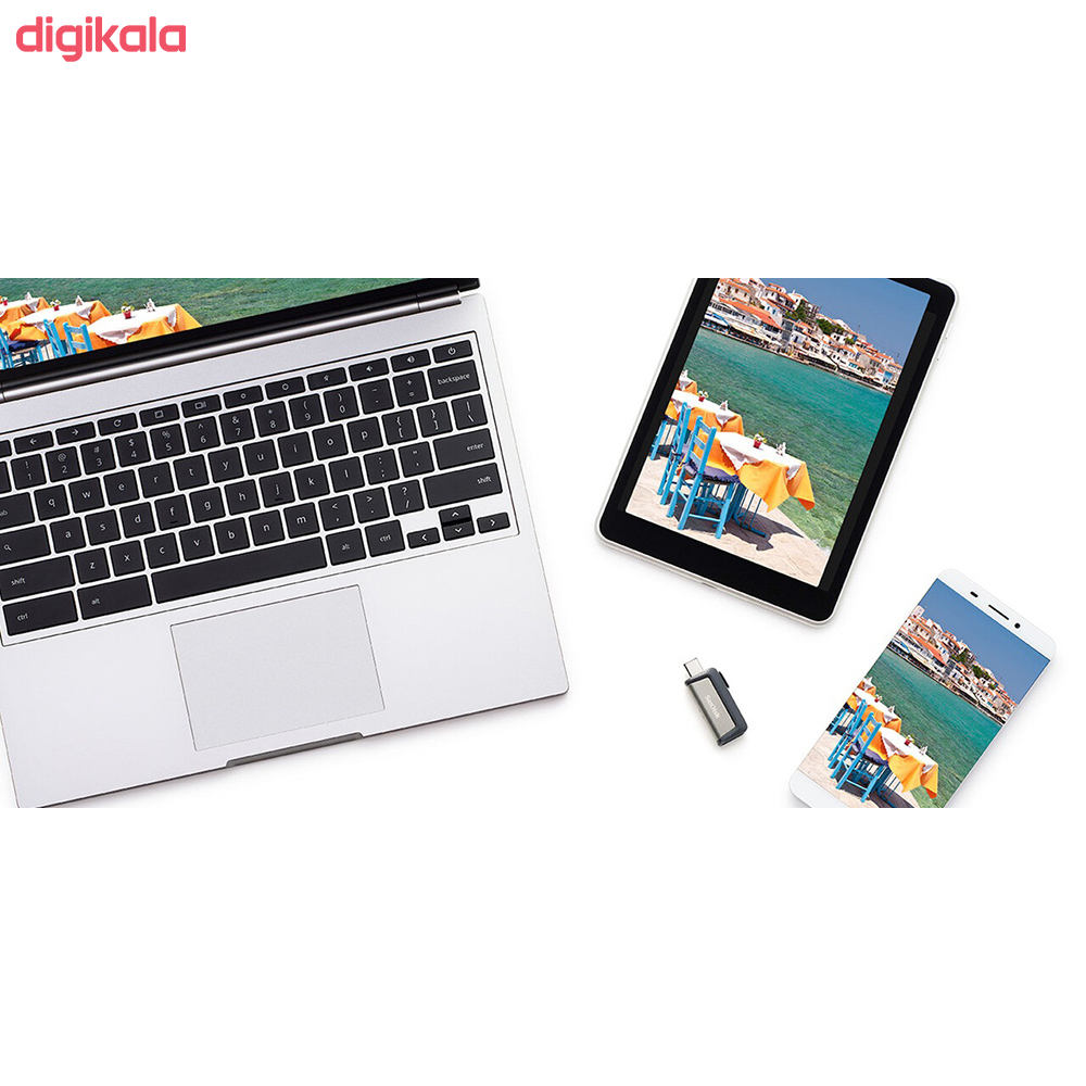 فلش مموری سن دیسک مدل Ultra Dual Drive USB Type-C  ظرفیت 64 گیگابایت main 1 5