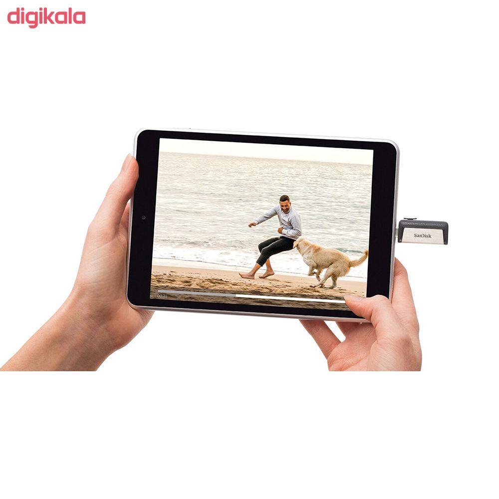 فلش مموری سن دیسک مدل Ultra Dual Drive USB Type-C  ظرفیت 64 گیگابایت main 1 6