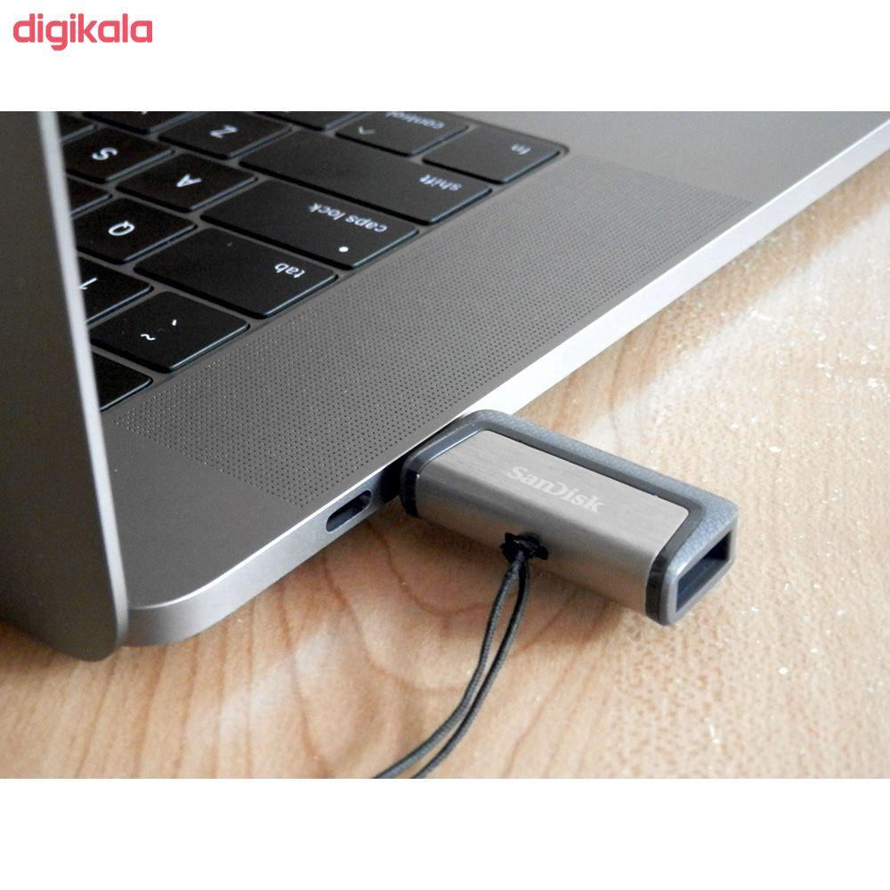 فلش مموری سن دیسک مدل Ultra Dual Drive USB Type-C  ظرفیت 64 گیگابایت main 1 9