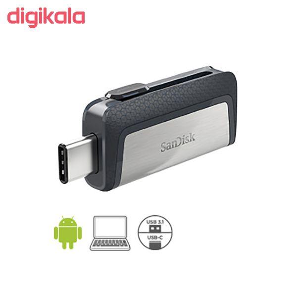 فلش مموری سن دیسک مدل Ultra Dual Drive USB Type-C  ظرفیت 64 گیگابایت main 1 12