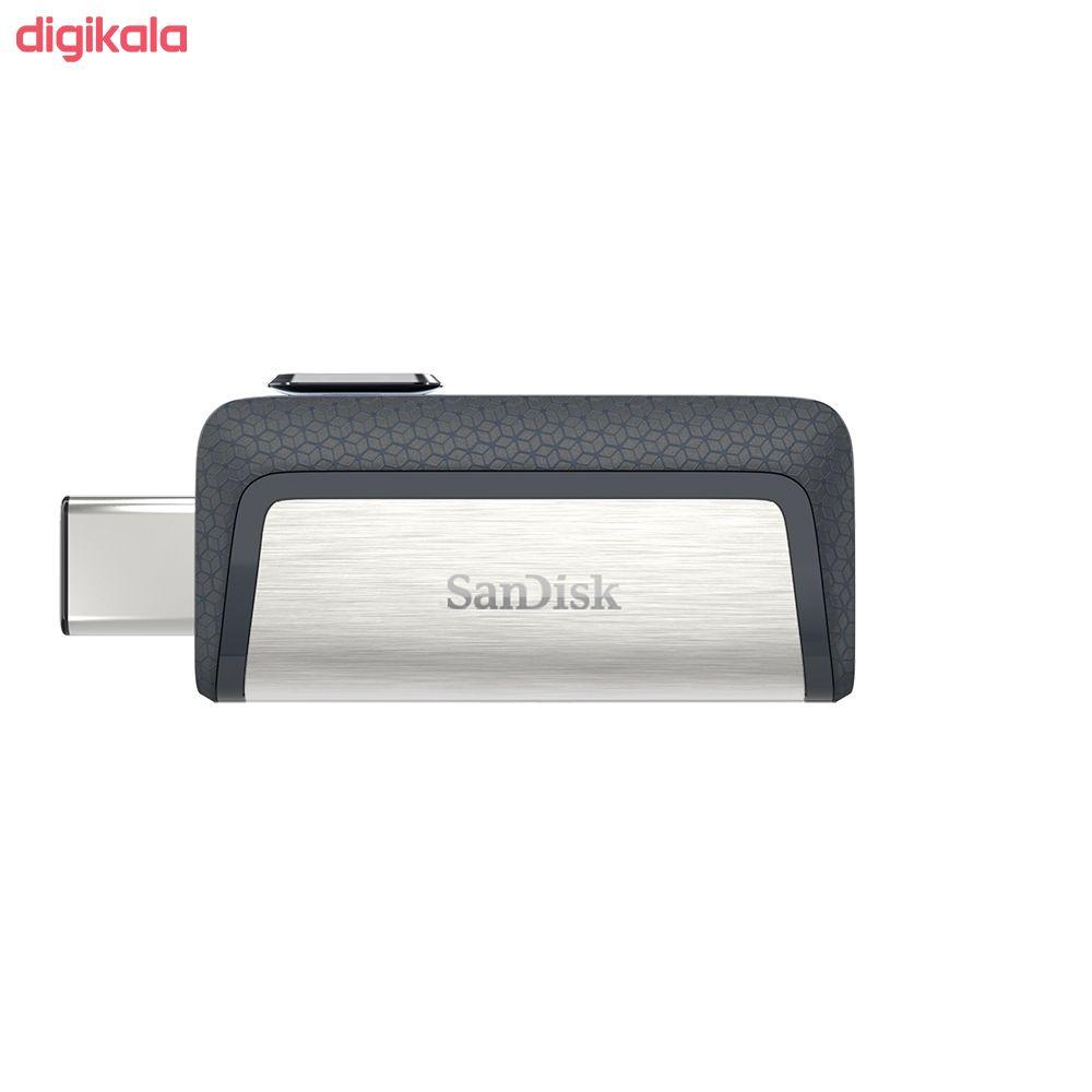 فلش مموری سن دیسک مدل Ultra Dual Drive USB Type-C  ظرفیت 64 گیگابایت main 1 16