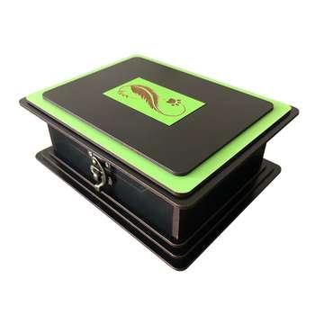 جعبه هدیه چوبی کد j2
