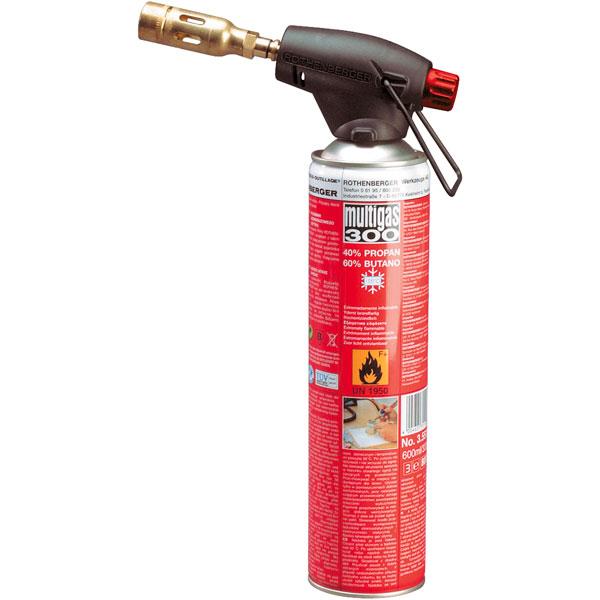 شعله افکن روتنبرگر مدل ROFIRE PIEZO همراه کپسول گاز