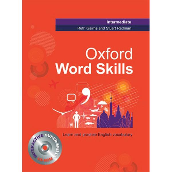کتاب Oxford word skills Intermediate اثر Ruth Gairns and  Stuart Redman انتشارات Oxford