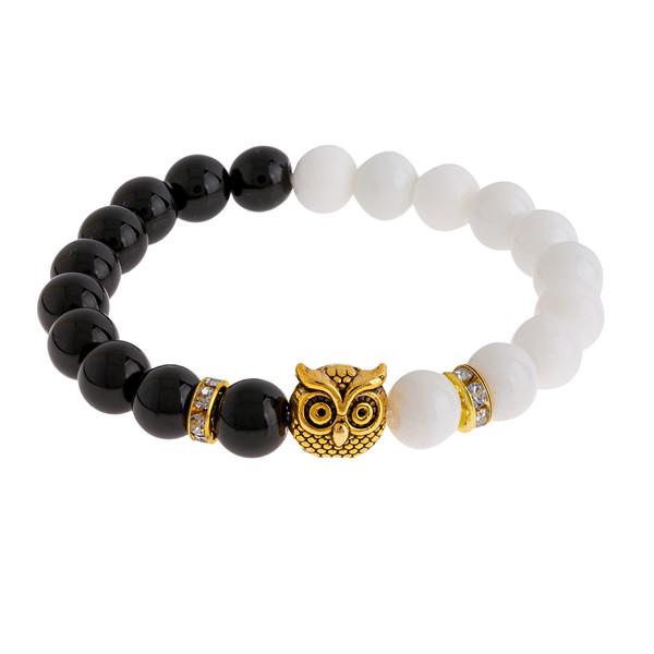 دستبند زنانه طرح جغد کد 116