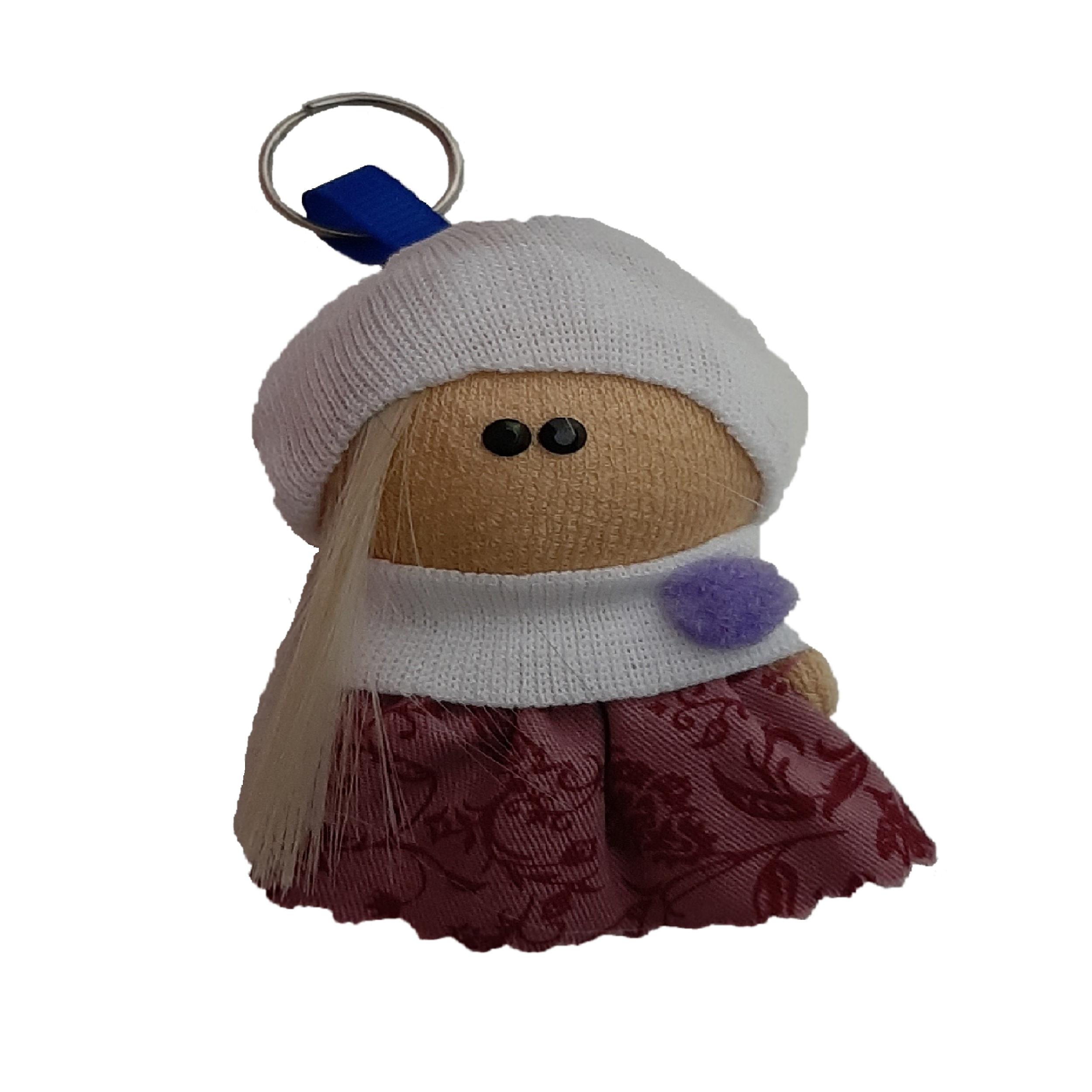 آویز طرح عروسک روسی مدل mah14