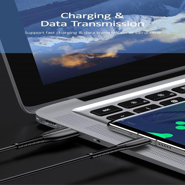 کابل تبدیل USB به USB-C یوسمز مدل US-SJ366 U35 طول 1 متر              ( قیمت و خرید)