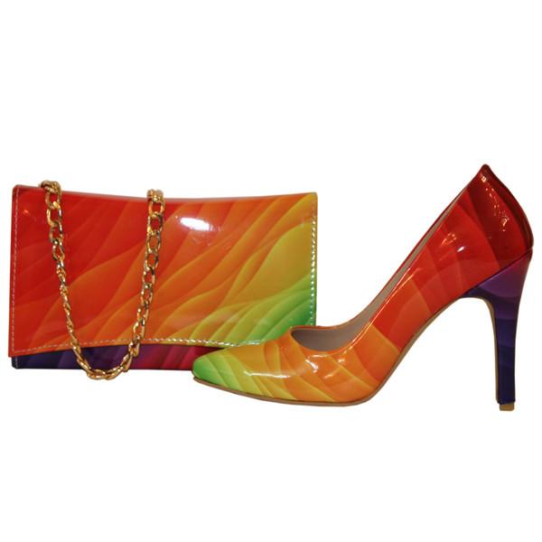 ست کیف و کفش زنانه کد 333