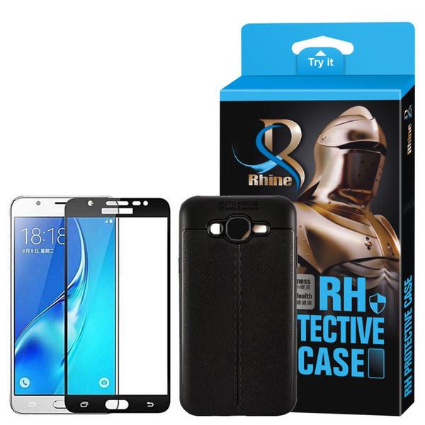 کاور راین مدل R_ATOG مناسب برای گوشی موبایل سامسونگ Galaxy J5 2015 به همراه محافظ صفحه نمایش